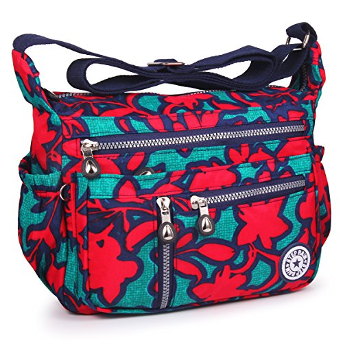 Splash flower Crossbody Shoulder Anti 4 ABLE Water Women Bags Messenger zYwExqf6