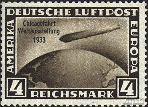 Prophila Collection Deutsches Reich 498 1933 Graf Zeppelin (Briefmarken für Sammler)