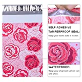 UCGOU Poly Mailers 6x9 Inch Red and Pink Roses