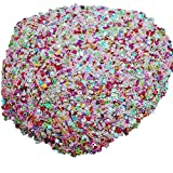 Slendima Beautiful Colorful Mixed Confetti DIY Party Wedding Festival Celebration Decoration Mix Color