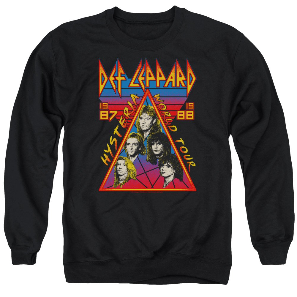 Unbekannt Def Leppard - - Herren Hysteria Tour Sweater