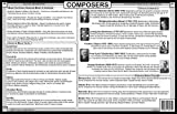 Tot Talk Composers Placemat