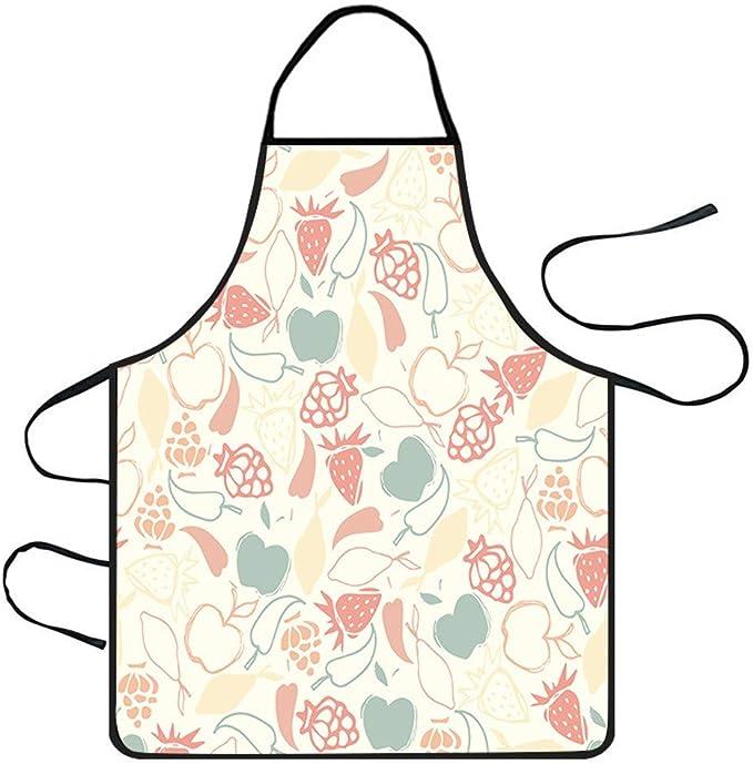Waterproof Aprons Women Cute Cartoon Apron Kitchen Restaurant Cooking Aprons
