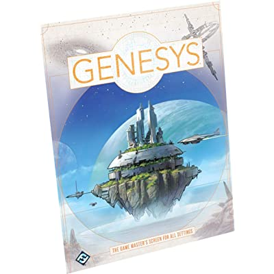Genesys Game Master's Screen: Toys & Games
