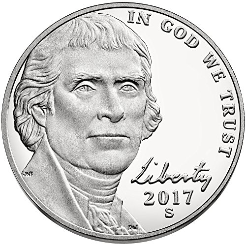 2017 S Jefferson Nickel Return to Monticello Nickel - Jefferson Nickel Mintage