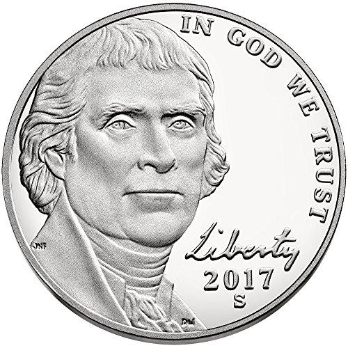 2017 S Jefferson Nickel Return to Monticello Nickel - Mintage Jefferson Nickel