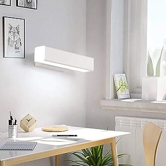 HZHYYW - Lámpara de pared nórdica moderna LED de aluminio para interiores y exteriores Ip65 LED escalera de caracol dormitorio lámpara de baño junto a la cama: Amazon.es: Iluminación