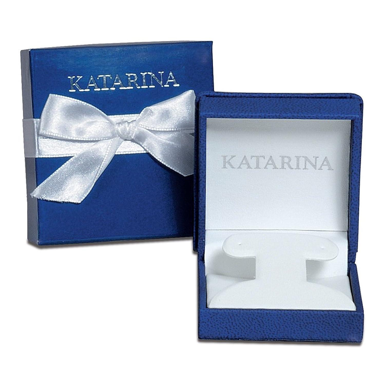 Amazon 1 4 ct Blue I1 Round Brilliant Cut Diamond Earring