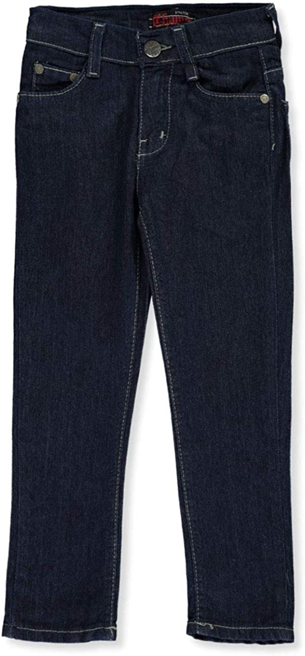 Chams Boys Contrast Stitch Denim Jeans