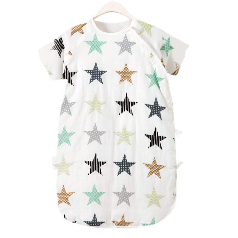 大割引 Cyuuro Star SLEEPWEAR ユニセックスベビー L L White Bottom Star Print White B075D1ZTS8, モトミヤマチ:1f69b195 --- a0267596.xsph.ru