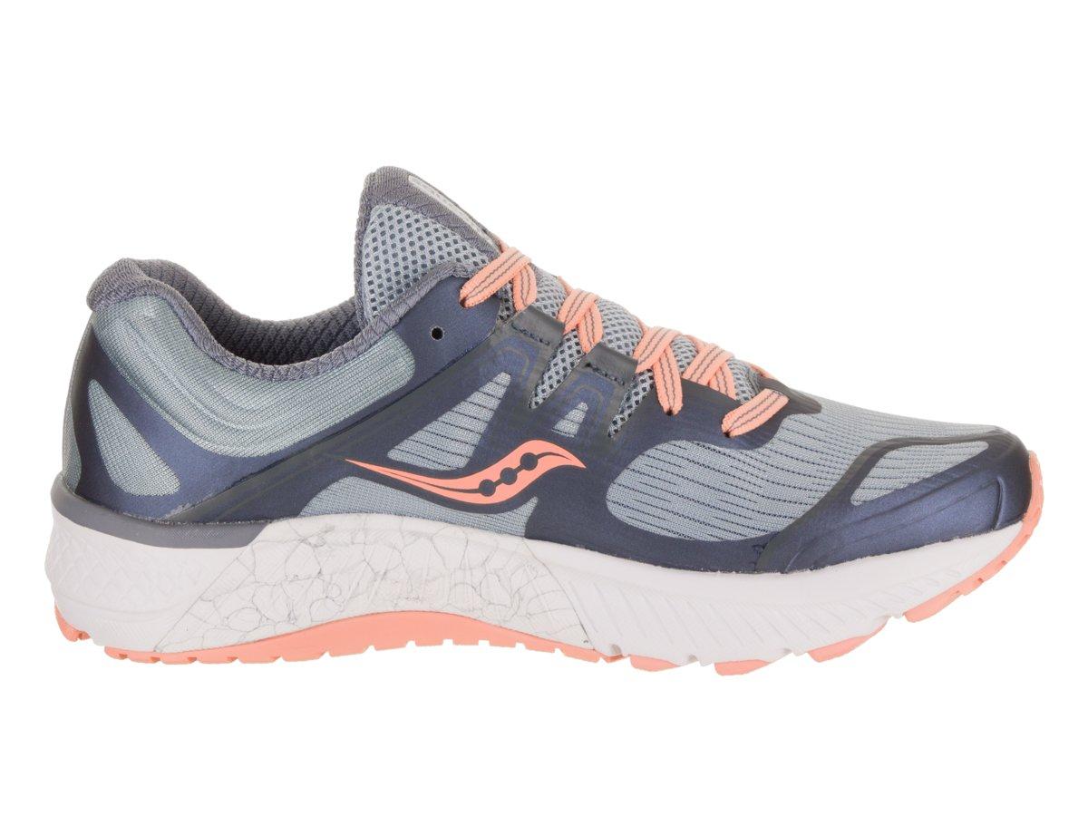 Saucony Women's Guide Iso Running Shoe B078PQDLCF 10 B(M) US|Slate/Peach