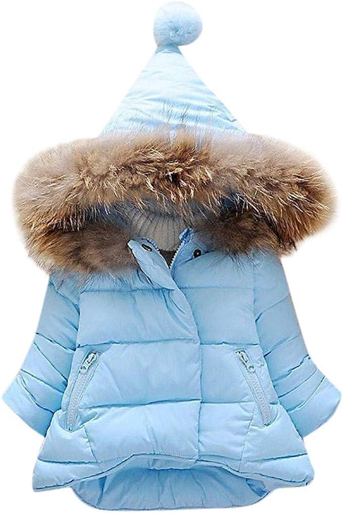 Kinder Baby Mädchen Kapuze Trenchcoat Herbst Winter Jacken Mantel Parka Outwear