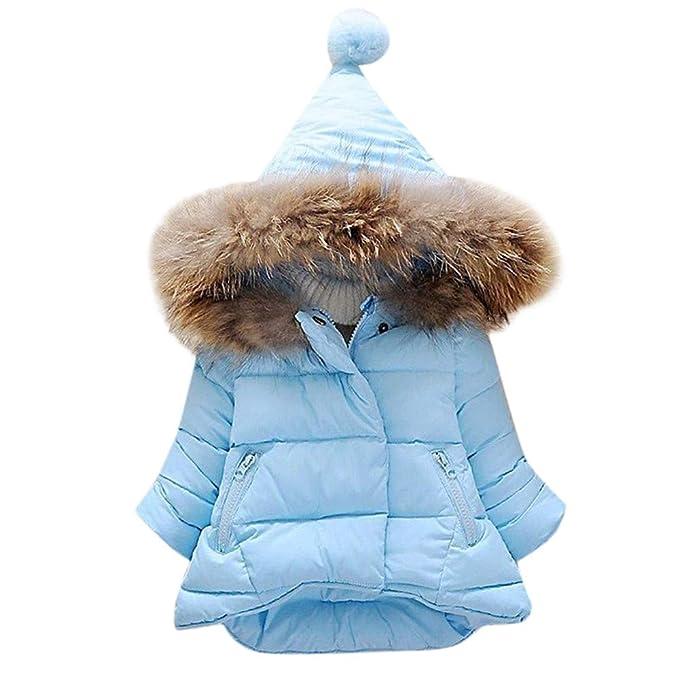 ASHOP Ropa Bebe, Abrigo Bebe niña Invierno de 3 a 6 Meses Chaqueta alpinestar Tops