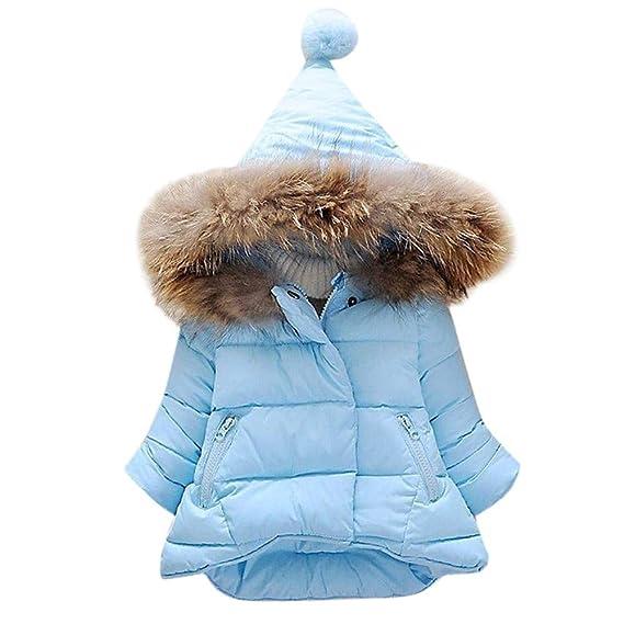 Ropa Bebé Otoño Invierno, Bebé niñas niños Abajo Chaqueta Abrigo Ropa de Abrigo 6 Mes - 5 Años