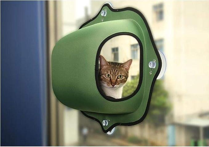 Mascotas Casatumbona Para Gatos Cálida Cama Para Gatos Hamaca Para Mascotas Para Mascotas Descanso Para Gatos Casa Para Gatos Suave Cómodo Gato Hurón Jaula Para Gatos Cama Con Ventana Para Lechón, Ve