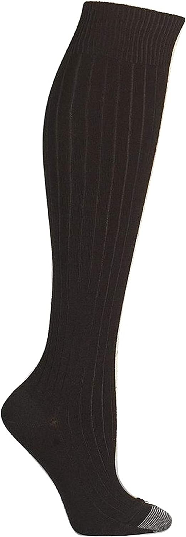 Silvertoe 2-Pack Knee-High Socks Size 9-11