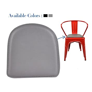 Yourlite Chair Pad For Industrial Stool Metal Steel Seat Cushion Top  Magnetic Detachable Indoor Outdoor