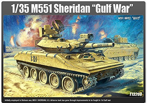 Used, Academy 1/35 M551 Sheridan tank Gulf War Ver. Plastic for sale  Delivered anywhere in USA