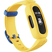 Fitbit Ace 3 Activity Tracker for Kids with Animated Clock Faces, Up to 8 days battery life & water resistant up to 50 m