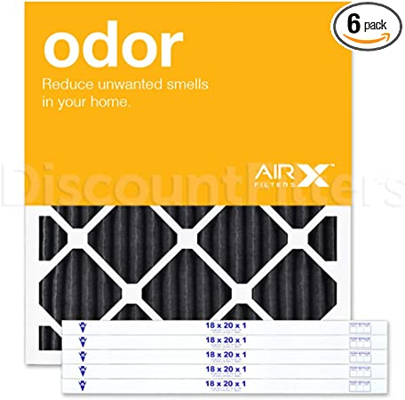 12-Pk AIRx Filters Allergy 18x20x1 Air Filter Replacement Pleated MERV 11