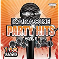 Karaoke Party Hits CDG CD+G Disc Set - 150 Songs on 8 Discs Including The Best Ever Karaoke Tracks Of All Time (Adele, Ed Sheeran, Coldplay, Abba, Beatles, Frank Sinatra, One Direction and much more) Supplied In PVC Case