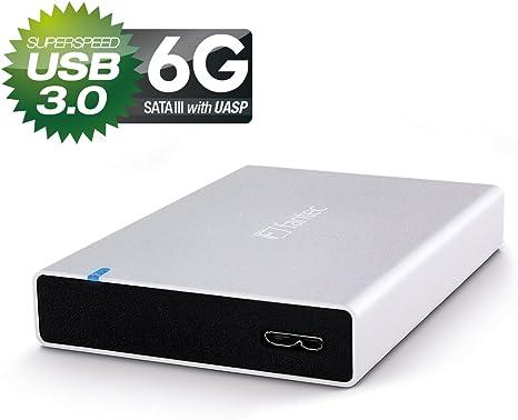 Fantec ALU-15MMU3 Carcasa externa para discos duros HDD de 2,5 y ...