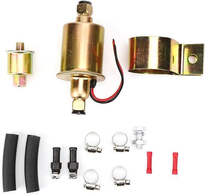 bomba de combustible eléctrica Bomba de combustible eléctrica universal para automóviles, camiones, tractores, generadores de botes, cambio manual MT E8012S