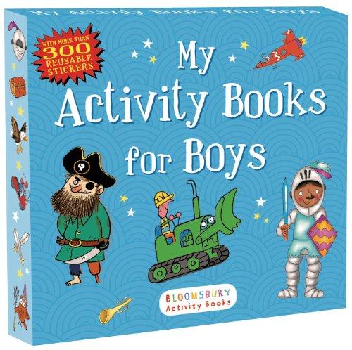 My Activity Books for Boys (Sticker Activity Books)
