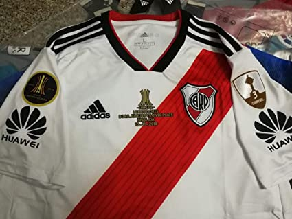 Retro River Plate CONMEBOL Libertadores Final Version (White, S)