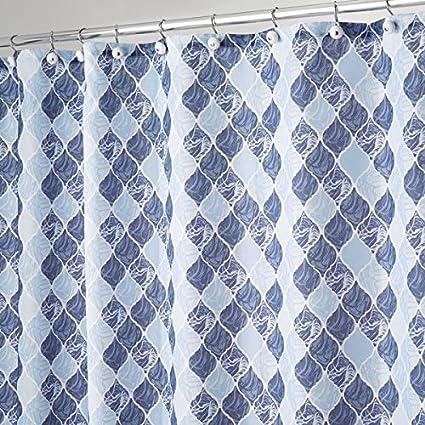 mDesign rideau de douche au style marocain - rideau de ...