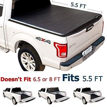 Amazon Com Leader Accessories Tri Fold 5 5ft Tonneau Truck Bed
