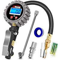 $21 » Oasser Digital Tire Inflator with Pressure Gauge 255PSI Tire Pressure Gauge Inflator Deflator…