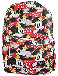Loungefly Minnie Mouse Disney Polka Dots All Over Print Backpack