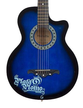 Medellin Med Blu C Linden Wood Acoustic Guitar Amazon In Electronics