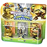 "Skylanders Swap Force - Character Triple Pack #4 - HEAVY DUTY SPROCKET ""S2"" / TWIN BLADE CHOP CHOP ""S3"" / SCORP"