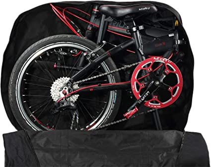 EFINNY Bolsa de Bicicleta Plegable de 14/16/20 Pulgadas Bolsa de Transporte de Bicicleta Bolsa de Transporte de Bicicleta Plegable Bolsa de vehículo de Carga a Prueba de Agua: Amazon.es: Deportes y aire