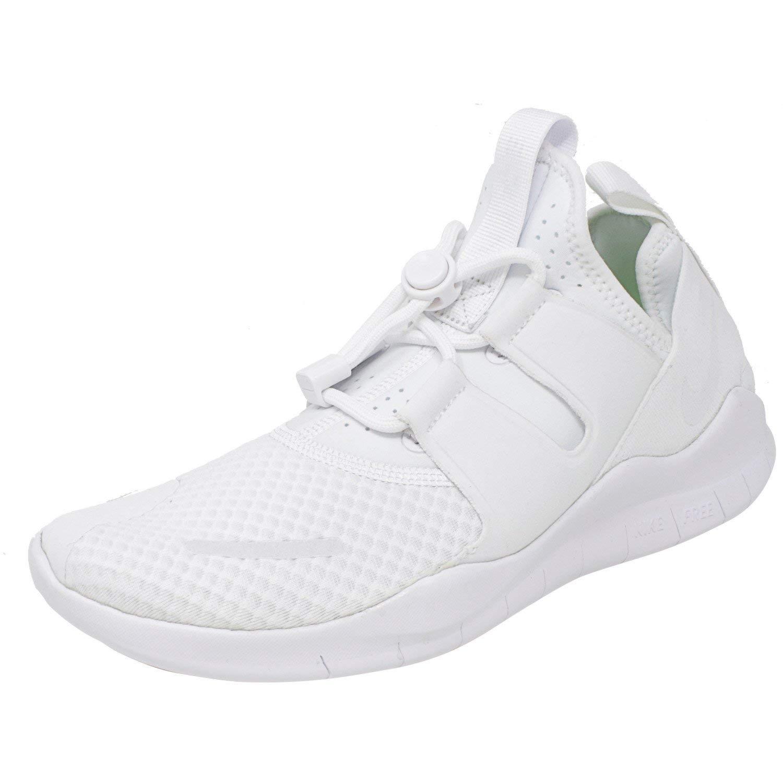 MultiCouleure (blanc blanc Summit blanc 100) Nike Free RN CMTR 2018, Chaussures de Running Compétition Homme 45 EU