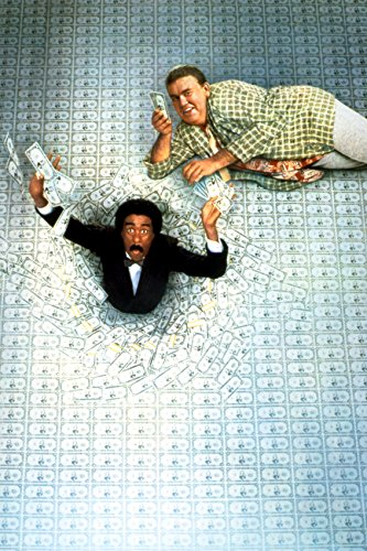 Richard Pryor and John Candy in Brewster's Millions poster art 18x24 Poster