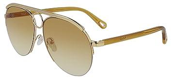 Sol Brown Romie De Ce152s Gafas Chloé Goldlight Shaded R3q54ALj