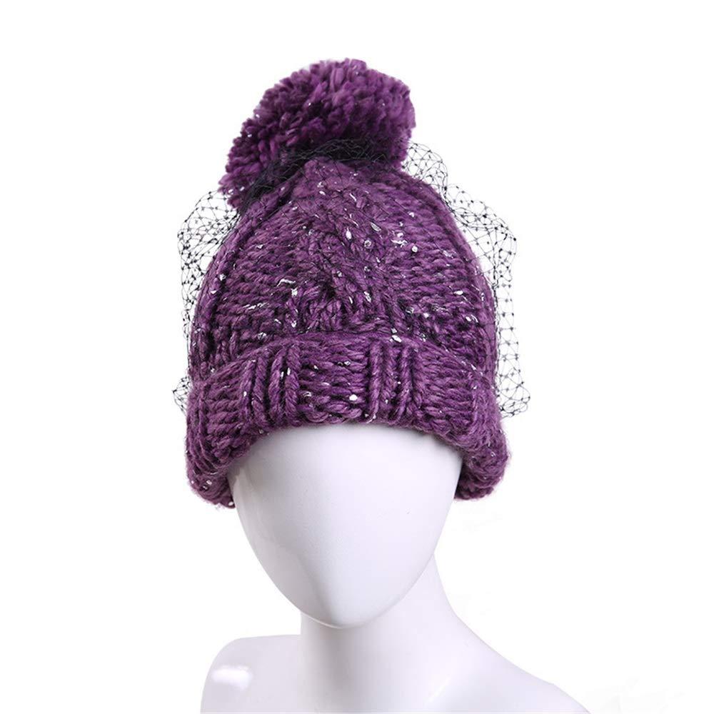 ... Easy Go Shopping Cappello acrilico caldo da donna adatto adatto donna  per l autunno inverno a6619228b80
