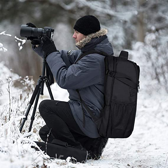 Mochila para cámara réflex con Funda Impermeable para Sony Canon ...