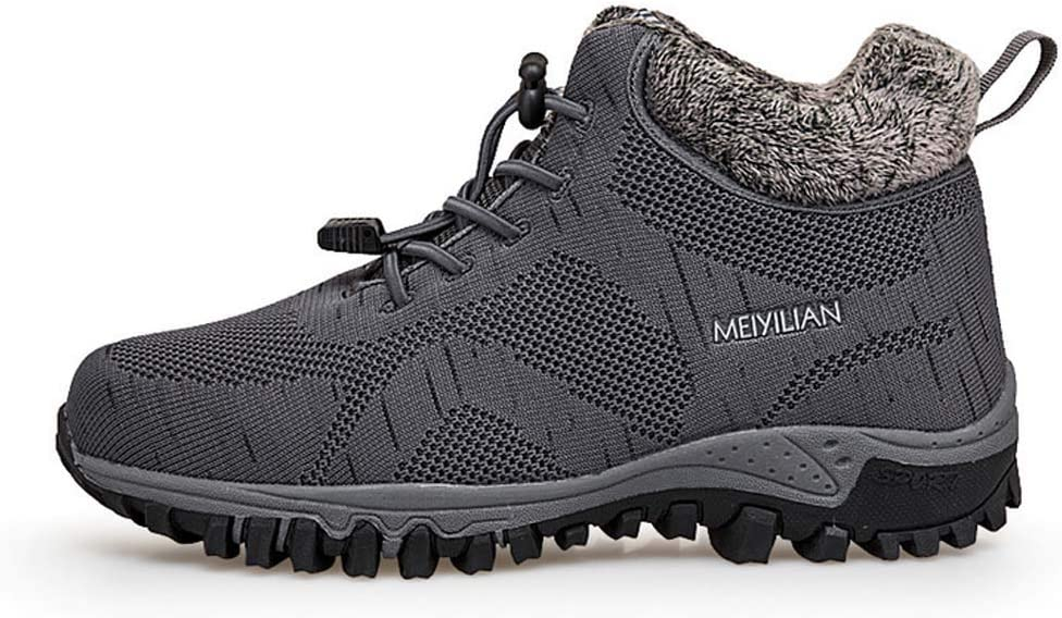 FGFKIJ Men Hiking Shoes,Outdoor Walking Shoes Low-top Sneakers Waterproof Hiking Boots Multi-Function Travel Mountain Boots