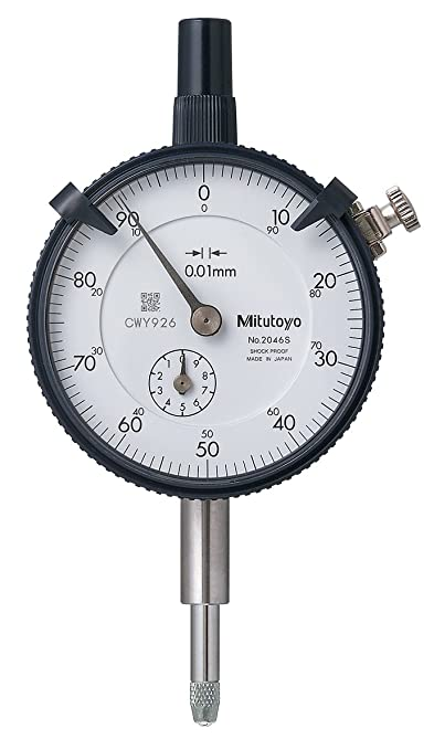 Freeship/&Tracking Mitutoyo 2046S Dial Indicator 0-10mm X 0.01mm Grad Dial Gauge