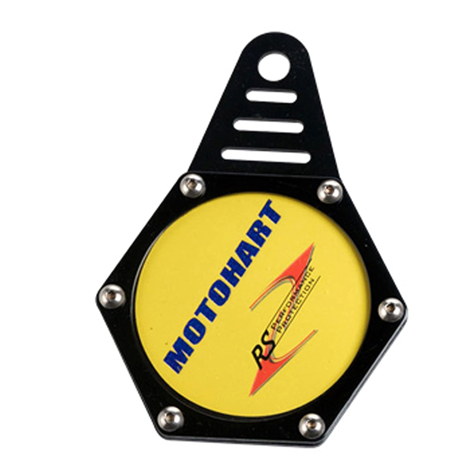 Viper Moto Accessories A220  Motorcycle Accessories Tax Disc Holder Tax Hexagon Black One Size Motohart UK Ltd