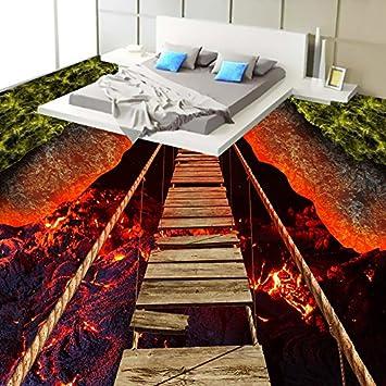 Ohcde Dheark Custom 3d Stock Wallpaper Vulkanischer Lava Seil Holz