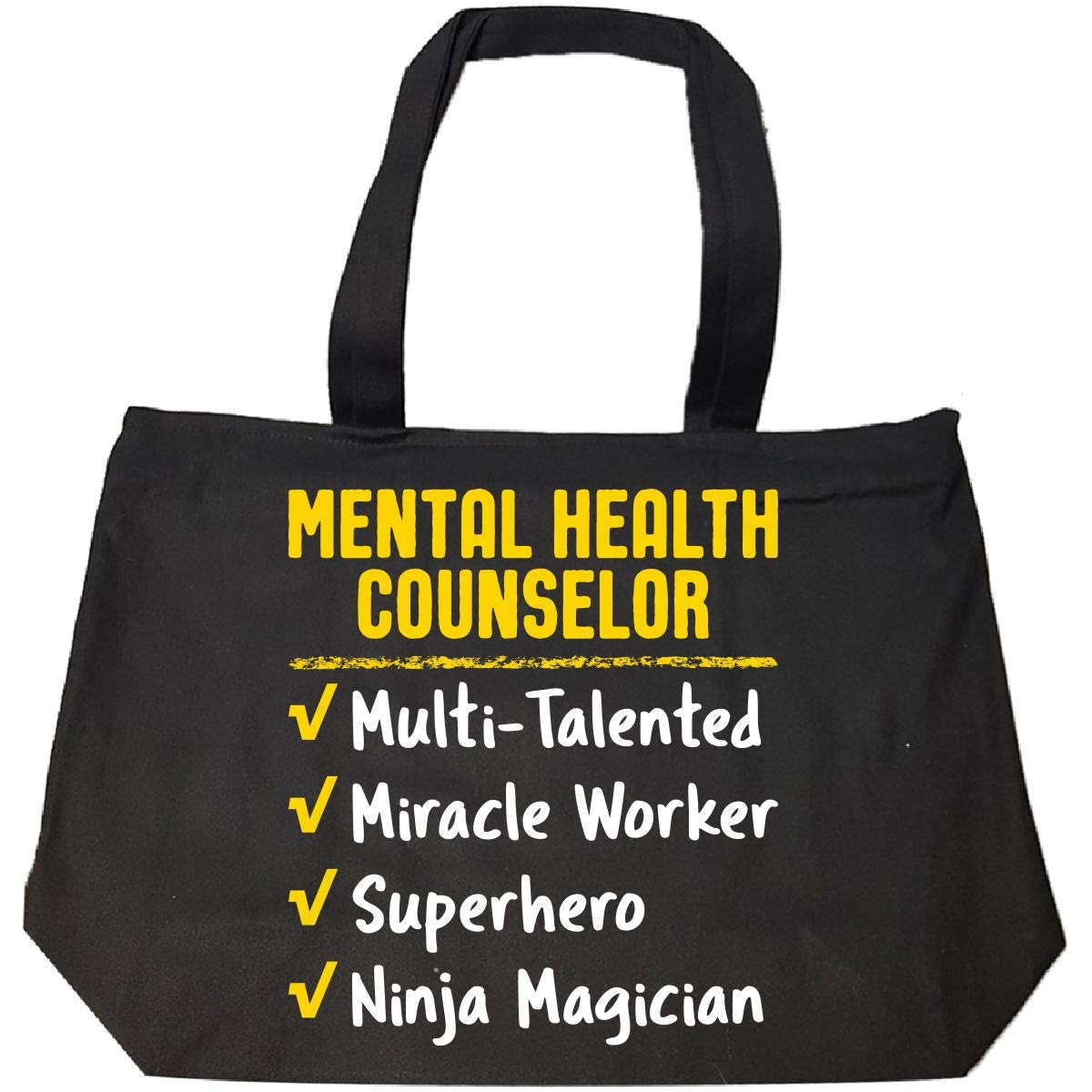 Mental Health Counselor Miracle Worker Ninja Funny Job Gift ...