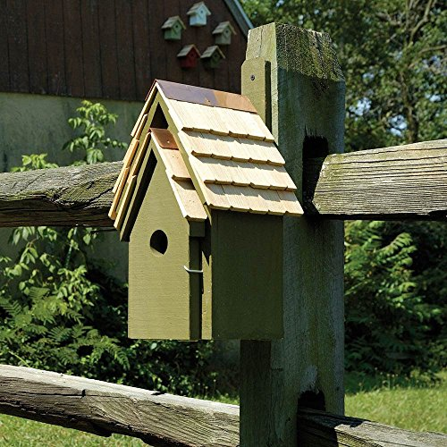 Heartwood Bluebird Manor Bird House in Pinion Green ()