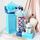 Blue Tissue Gift Wrapping Paper 60 Sheets