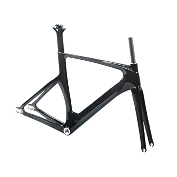 ridewill Bike Frame Pista/Track Full Carbon BSA Size 52 (Snap-On ...