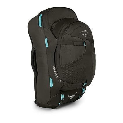 b08364b6b45 Osprey Packs Fairview 55 Women s Travel Backpack, Misty Grey, X-Small Small